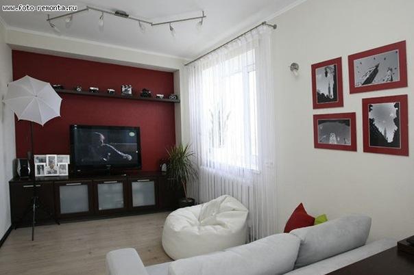 Интерьер небольшой гостиной фото