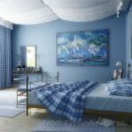 интерьер спсльной комнаты для жаворонков