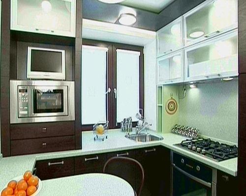 Дизайн маленькой кухни квартирный вопрос фото