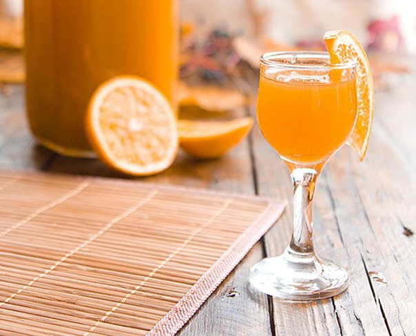 ликер в домашних условиях на водке и лимоном