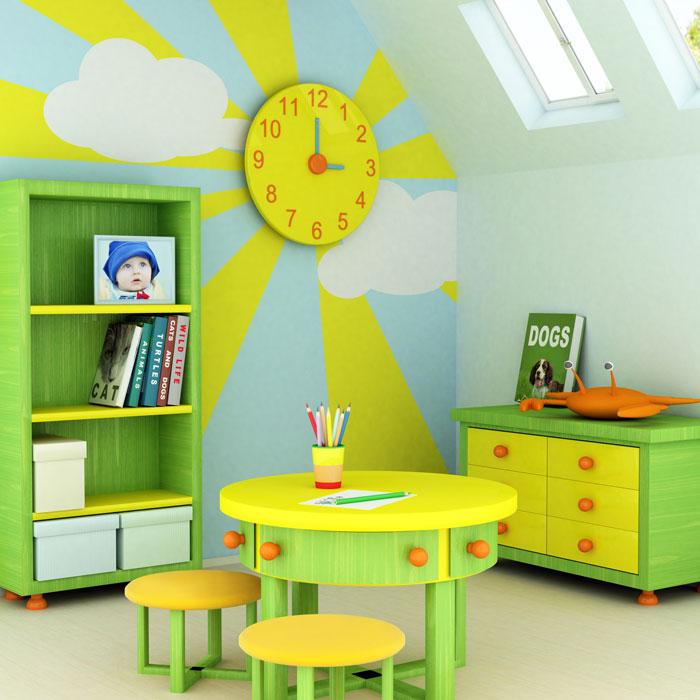 Оформляем детскую комнату своими руками фото