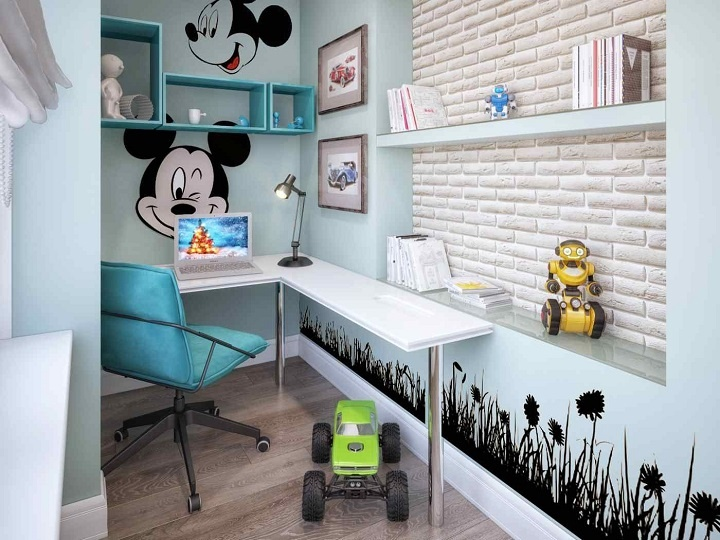 детская комната на балконе