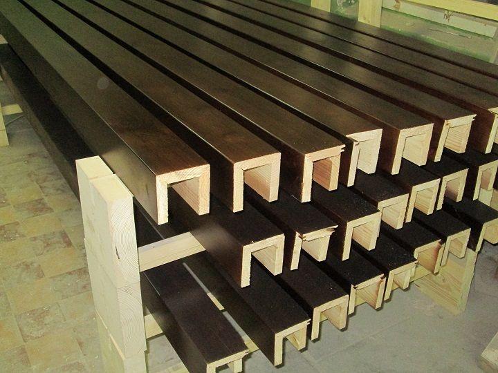 деревянные декоративные потолочные балки