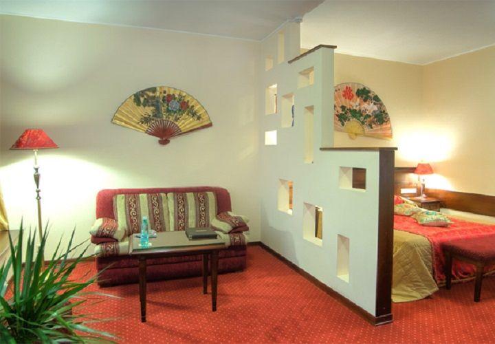 разделение комнаты перегородкой