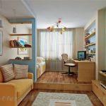 Интрерьер комнаты в однокомнатной квартире