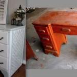 реставрированная мебель для детской комнаты