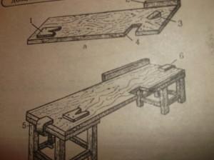 Упрощенная верстачная доска для домашней мастерской