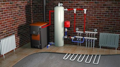 Автономнная система отопления квартиры.