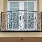 ажурный французский балкон