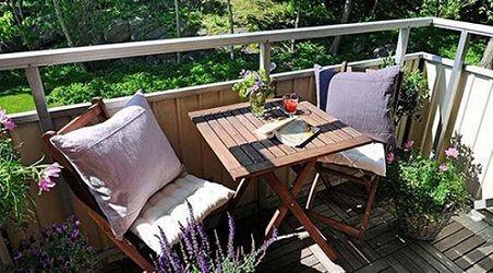 Балкон для отдыха