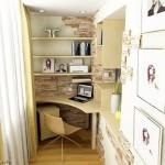 маленький кабинет на лоджии