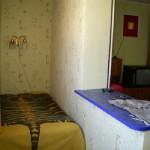 лоджия-спальня соединенная с комнатой