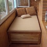 мебель для спальни на балконе
