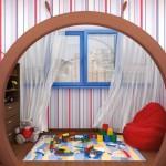детская игровая на балконе