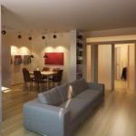 мебель в зонировании интерьера