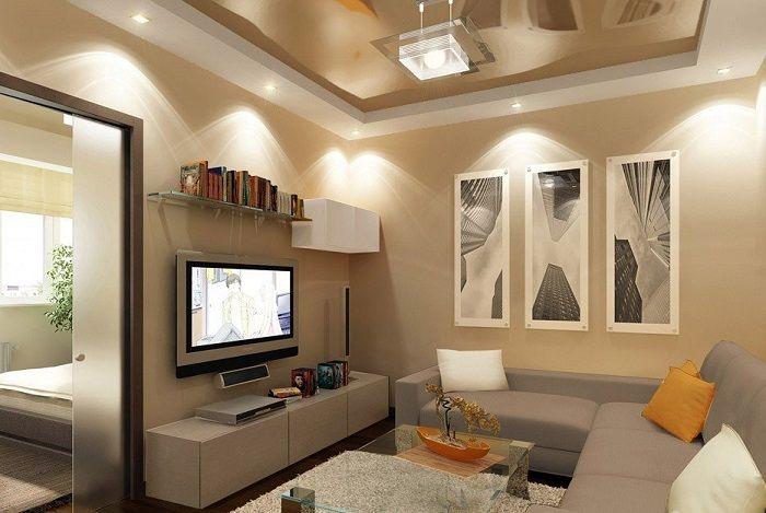 свет для зонирования комнаты