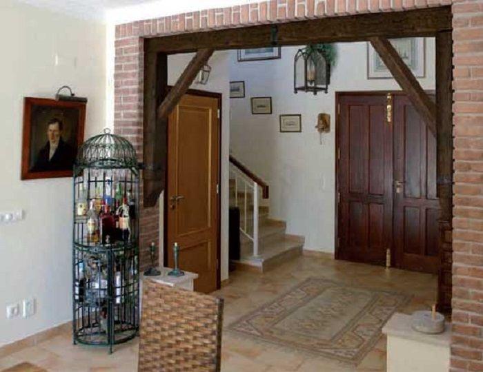 декоративные балки в виде арки