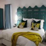 декоративная ширма в спальной