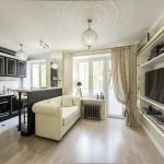 Кухня-в-квартире-студии